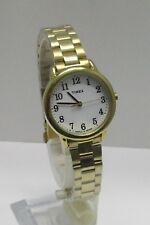 Women's Classic Timex Easy Reader Gold Tone Indiglo Quartz Watch