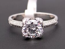 Tacori Platinum Round Cut Diamond Engagement Ring HT2536RD