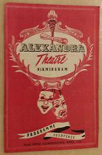 1961 Alexandra Theatre: Joan Davies Tom Swift in LA TRAVIETA - Opera by Verdi.