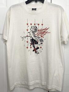 Vintage 80's Becky Hobbs T Shirt Screen Stars Best XL Music