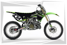 2003 2004 2005 2006 2007 2008 KX 125 250 GRAPHICS KIT KAWASAKI KX250 DECALS