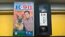 K-911 STARRING JAMES BELUSHI VHS VIDEO