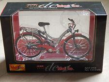 New Tour de Maisto 1:12 Die Cast Metal Audi quattro Citybike Mini Bicycle Bike