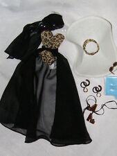 Barbie Retro 40's Leopard Print Swimsuit Fit Silkstone New De-Boxed Free US Ship