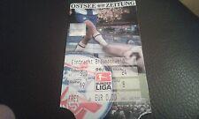 Ticket FC Hansa Rostock - Eintracht Braunschweig , Sammelkarte, Ultras, BTSV, FC