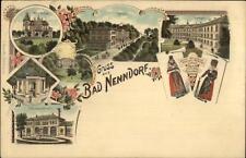 Gruss Aus Nenndorf Germany Multi View c1900 Postcard