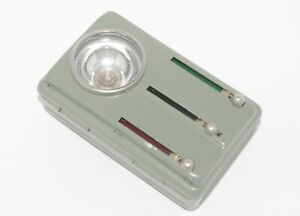 Vintage Military Metal Flashlight Lantern/Torch Pocket 3-colour Army 60s/70s NEW