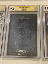 Fathom #v2 #1 CGC SS 9.8 Wizard World Philadelphia 2005 Signed Michael Turner