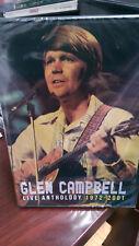 GLEN CAMPBELL - LIVE ANTHOLOGY 1972-2001 DVD with Bonus CD Rhinestone Cowboy