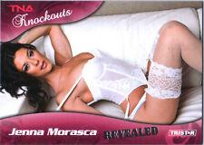 TNA Jenna Morasca #102 2009 Knockouts Revealed SILVER Parallel Card SN 13 of 50