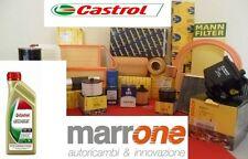 Kit tagliando filtri BOSCH+olio motore CASTROL EDGE VW AUDI A3 1.9 TDI 77kw 03>