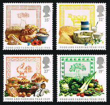 GB (1248 1251) 1989 Food and Farming Year - MINT Set of 4 - PO FRESH!