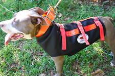 Large Hog Dog Full Cut Vest Hog Hunting 3-Ply YOU PICK STRAP COLOR