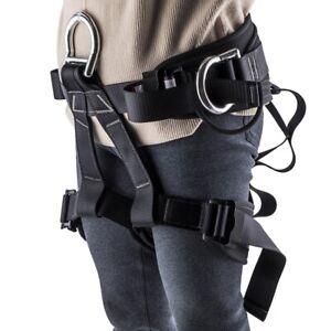 Outdoor Sports Tree Rock Climbing Harness Half Body Waist Support Safety Belt