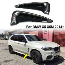 CF Side Air Vent Fender For BMW X5 F15 X5M F85 2014-2018 Real Carbon Fiber