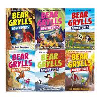 A Bear Grylls Adventure Series 2 Cave Challenge 6 books Collection Set PB New