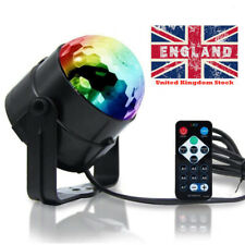 RGB Disco Ball Light Strobe Lamp Sound Activated Remote for Home Party Decor