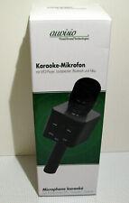 auvisio Karaoke-Mikrofon mit MP3-Player, Lautsprecher, Akku, 5 Einstellungen