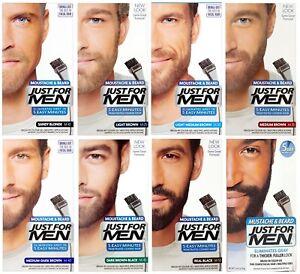 Just For Men Colour Dye Gel Moustache and Beard