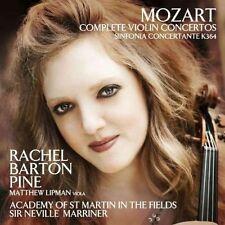 RACHEL/ACADEMY OF ST MARTIN BARTON PINE - COMPLETE VIOLIN CONCERTOS/+ 2 CD NEW+