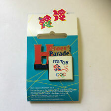 London 2012 Olympic Pin Badge - Heroes Parade 2008 Team GB - New