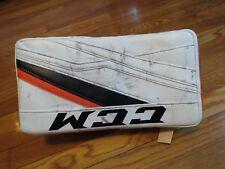 Used Steve Mason CCM Lefevre Pro Stock Goalie Blocker. Left Hand Flyers Flex