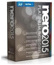 Nero 2015 Platinum (Box) (1) - Vollversion für Windows EMEA-12250000/1309