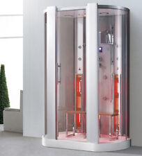 3 in 1 Infrarot Dampfdusche Sauna Dusche sw-k026 160 x 95 x 215 cm ab Lager