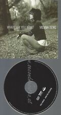 PROMO CD--VIENNA TENG--WHATEVER YOU WANT--1TR