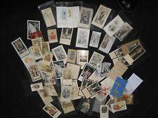 LOT + DE 60 ANCIEN IMAGES RELIGIEUSE PIEUSES  antique HOLY CARD lot 2