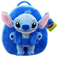 New Cute Disney Lilo & Stitch Soft Plush Backpack Lovely Baby Toy Boy Gift