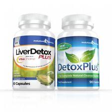 foie détox Plus capsules & nettoyage du côlon pilules de régime 1 mois