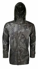 Unisex Long Hooded Waterproof Rain Coats Womens Mens Waterproof Outdoor Jackets