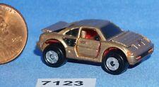 MICRO MACHINES FERRARI MONDIAL DELUXE LUXURY SPORTS CAR GOLD Vintage Galoob