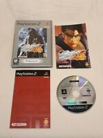 Tekken 4 - Platinum PS2 Game Disc Sony PlayStation 2 - Complete with Manual