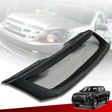 Front Net Grille Grill Matte Black Fits For Isuzu D-max Dmax 2012 13 14