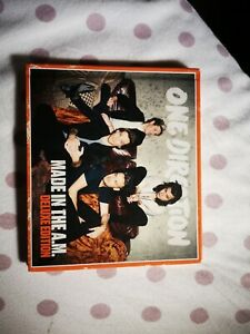 """One Direction """" Made In The A.M.- Ultimate fan Edition """" 2015 Syco MusicCD NUOVO"""