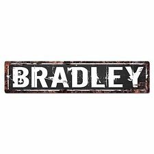 SFND0128 BRADLEY MAN CAVE Street Chic Sign Home man cave Decor Gift