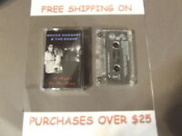 BRUCE HORNSBY & THE RANGE A NIGHT ON THE TOWN CASSETTE