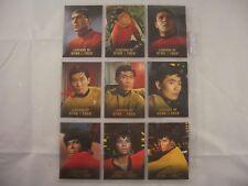 Legends of Star Trek Lt Uhura, Lt Sulu & Montgomery Scott Scotty L1-L9 1698/1701