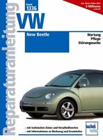 VW New Beetle Reparaturanleitung Reparaturbuch Wartung Reparatur-Handbuch Buch