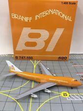 LAST Model Aeroclassics 1:400 Braniff International Boeing 747-100 N601BN