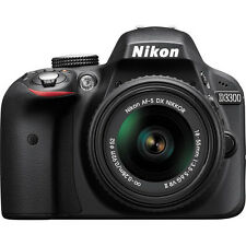 Nikon D3300 Digital SLR 24.2MP CMOS Camera + 18-55mm f/3.5-5.6G Lens