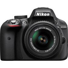 Nikon D3300 Digital SLR 24.2MP CMOS Camera + 18-55mm f/3.5-5.6G Lens
