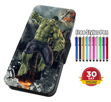 The Incredible Hulk Printed Flip Phone Case Cover for iPhone Samsung And Huawei