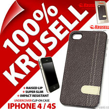 Krusell Undercover Gaia Back Case Clip On Cover Shell for Apple iPhone 4 / 4S