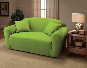 """""""TIME TO BUY""""    JERSEY STRETCH COVER FOR LOVESEAT  / SOFA / CHAIR / RECLINER"""