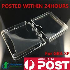 Transparent Clear Crystal Hard Case Cover Shell Skin For GBA SP