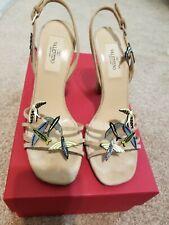 Valentino Bird Motive Heeled Sandals - Size 36