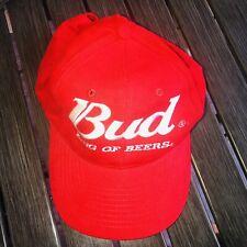 Bud King of Beers Dad Hat Adjustable Red